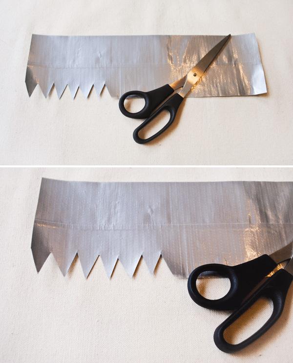 koningskroon van oranje duct tape